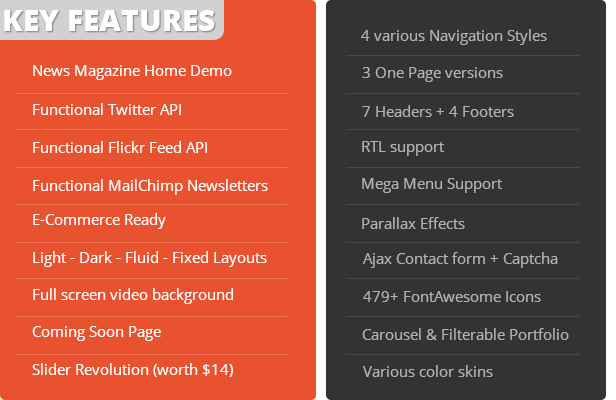 EXCEPTION - Responsive Business HTML Template Download